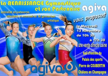 Affiche vente agiva chalons